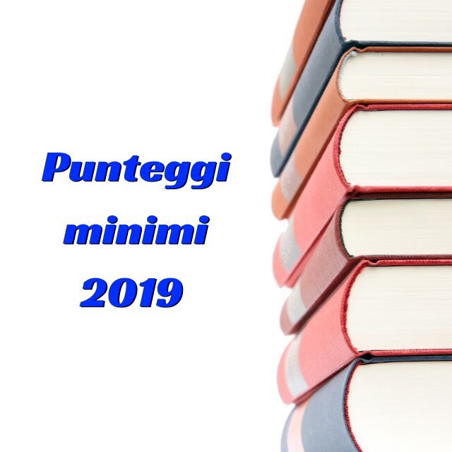 Analisi punteggi minimi 2019 2