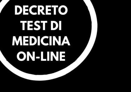 Test medicina 2020: il decreto e le novità 2